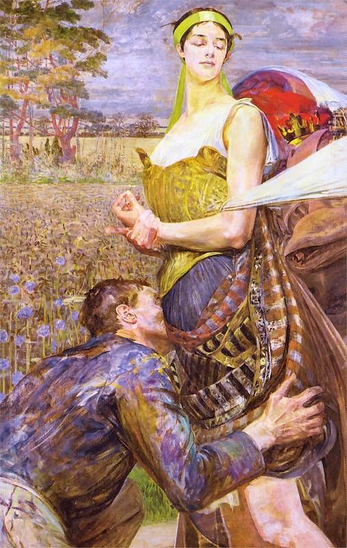 Jack Malczewski Known for his symbolism and love of his country My blood Thank you, Kristina Maria Malczewska