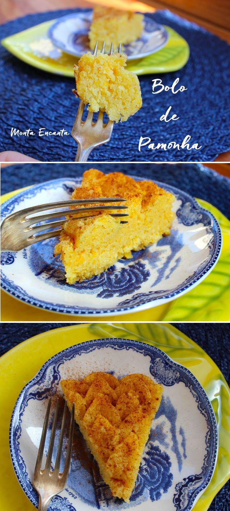 Bolo de Pamonha, é de lamber os beiços. Bolo de Pamonha, como nome diz lembra pamonha, meio bolo, tipo pudim. Pamonha de Forno! Delicioso para comer ainda quente e de …