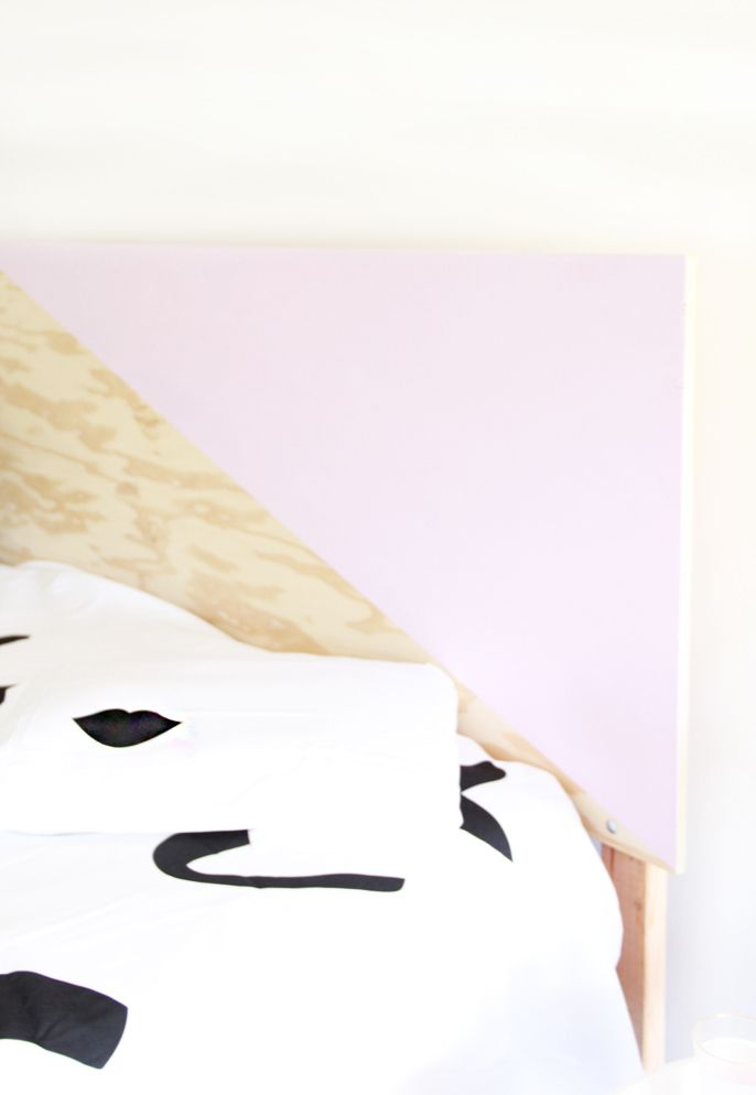 how to make your own headboard, diy headboards, how to make plywood headboards,