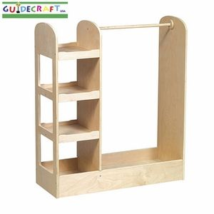 Dress Up Clothes Rack With Mirror On The Side