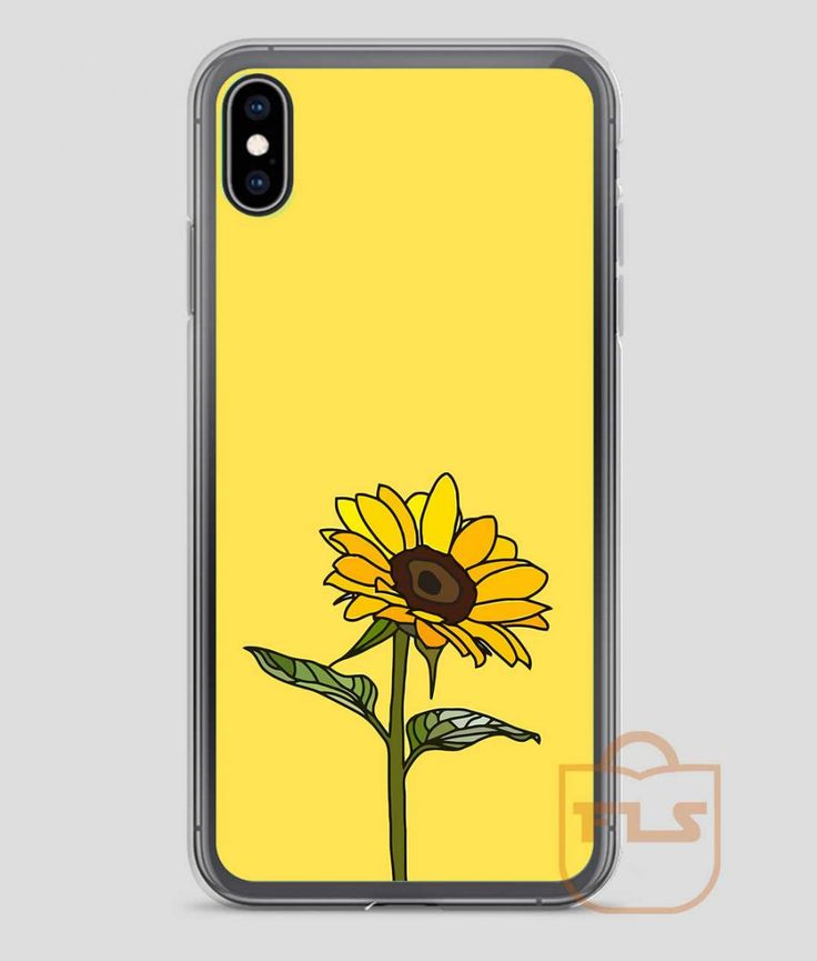 Aesthetic Sunflower iPhone Case X XS XR XS Max Iphone