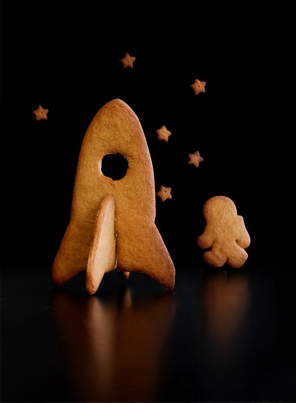 3d spaceship cookie cutters
