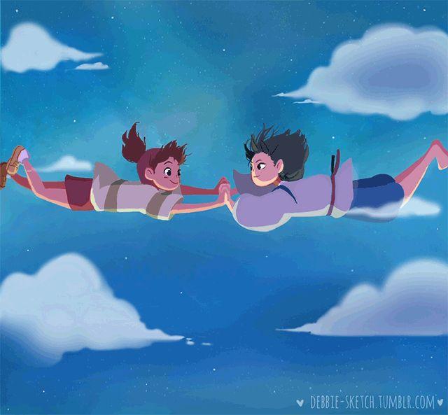 "debbie-sketch: ""(•ᵕᴗᵕ•)⁾ ·°˖ⁱ✧˖° Falling in love """