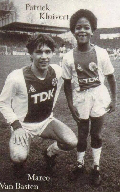 Marco van Basten & Patrick Kluivert