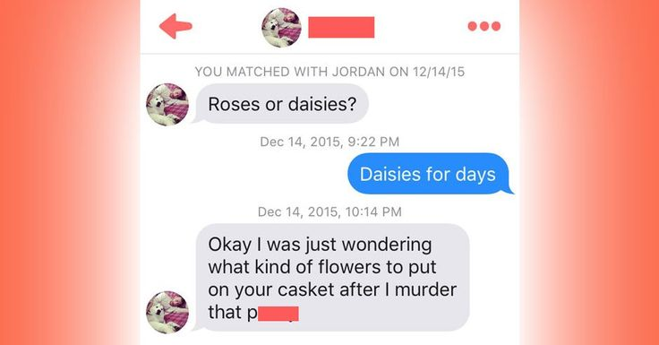 9 Tinder Conversations That Escalated WAY Too Quickly