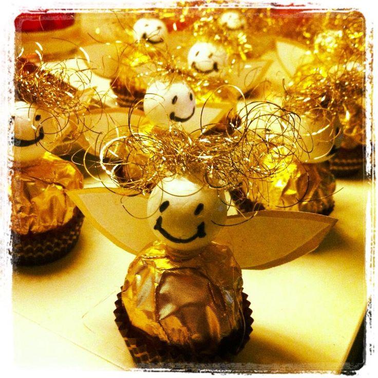 Weihnachten/Ferrero Rocher Engel
