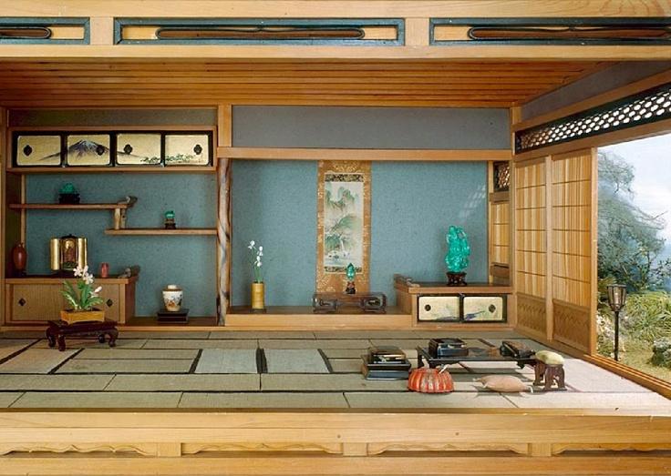 Japanese interior FIN BLÅ MED TRÄET!