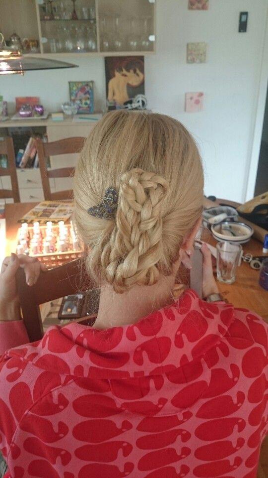 Three braid updo