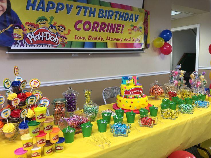 Corrine's play doh party