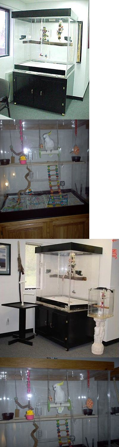 Cages 46289: Amazon Bird Cage For Medium-Large Birds, Parrots, Macaws With Black Base -> BUY IT NOW ONLY: $1250 on eBay!
