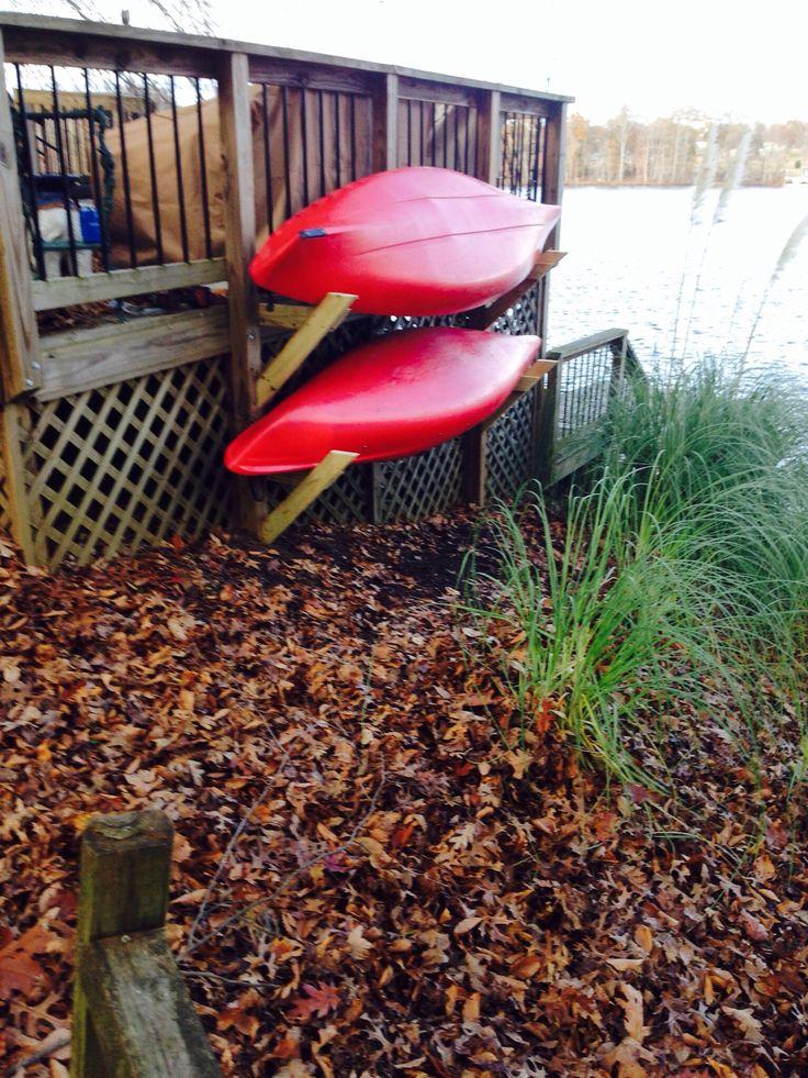 How to Build a Quick Kayak Rack