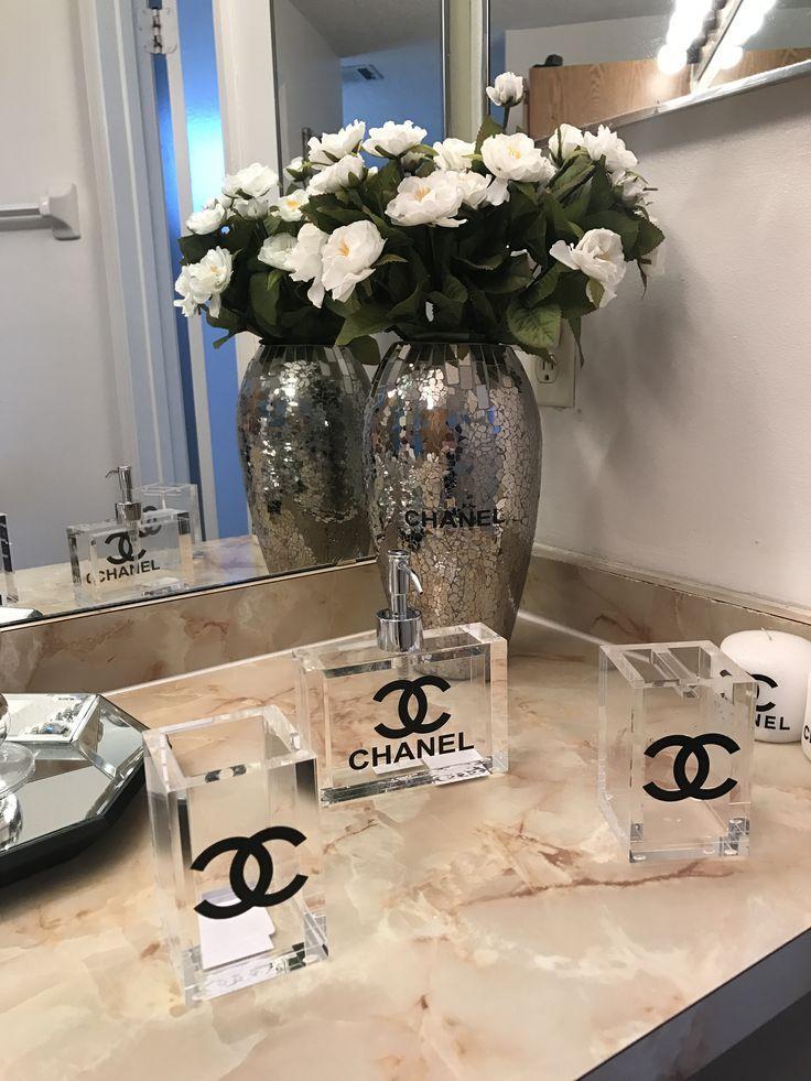 Bedroom Makeover Diy, Chanel Decor, Chanel
