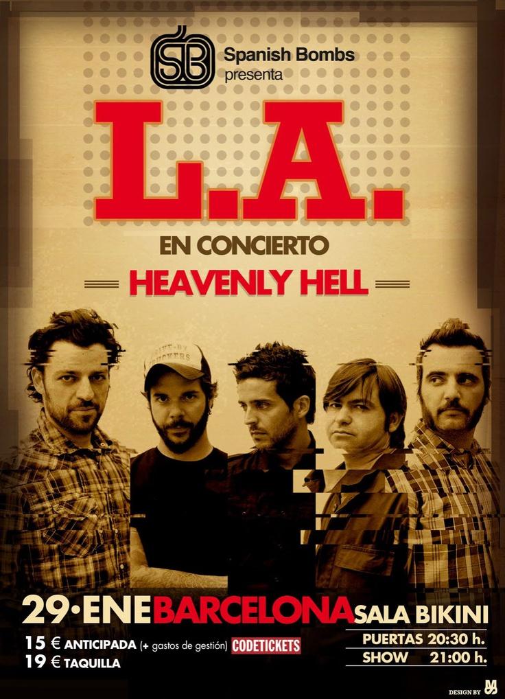 L.A. Cartel gira Madrid-Barcelona.