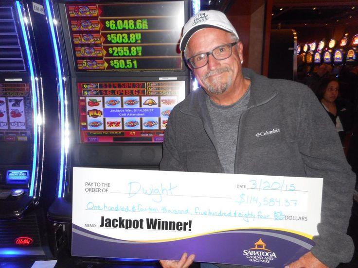Dwight won $114,584 on @Bally_Tech #QuickHits @SaratogaCasino