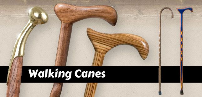 We carry a wide variety of handmade walking canes. Each cane is individually made from the finest woods including sassafras, hickory, sweet gum, iron bamboo, and many other exotic and native trees. Many styles to choose from. Walking Canes for Men and Women.