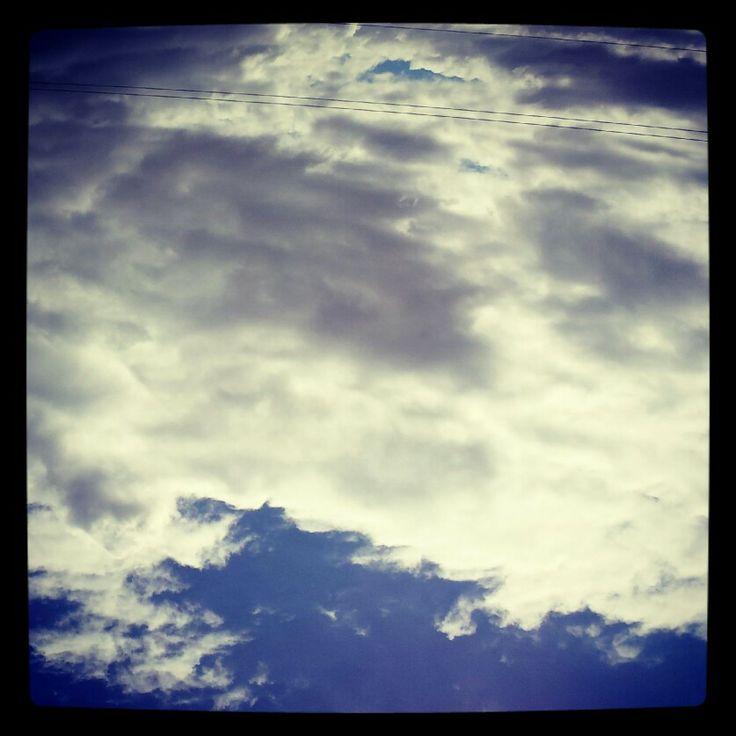 Nubes en Oaxaca. México ♡