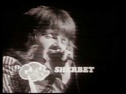 """▶ Sherbet - """"You're My World""""  [Sherbet (aka Highway or The Sherbs) are one of the most prominent and successful Australian rock bands of the 1970s. The 'classic line-up' of Daryl Braithwaite on vocals, Tony Mitchell on bass guitar, Garth Porter on keyboards, Alan Sandow on drums, and Clive Shakespeare on guitar provided their teen-orientated pop style.] `j"""