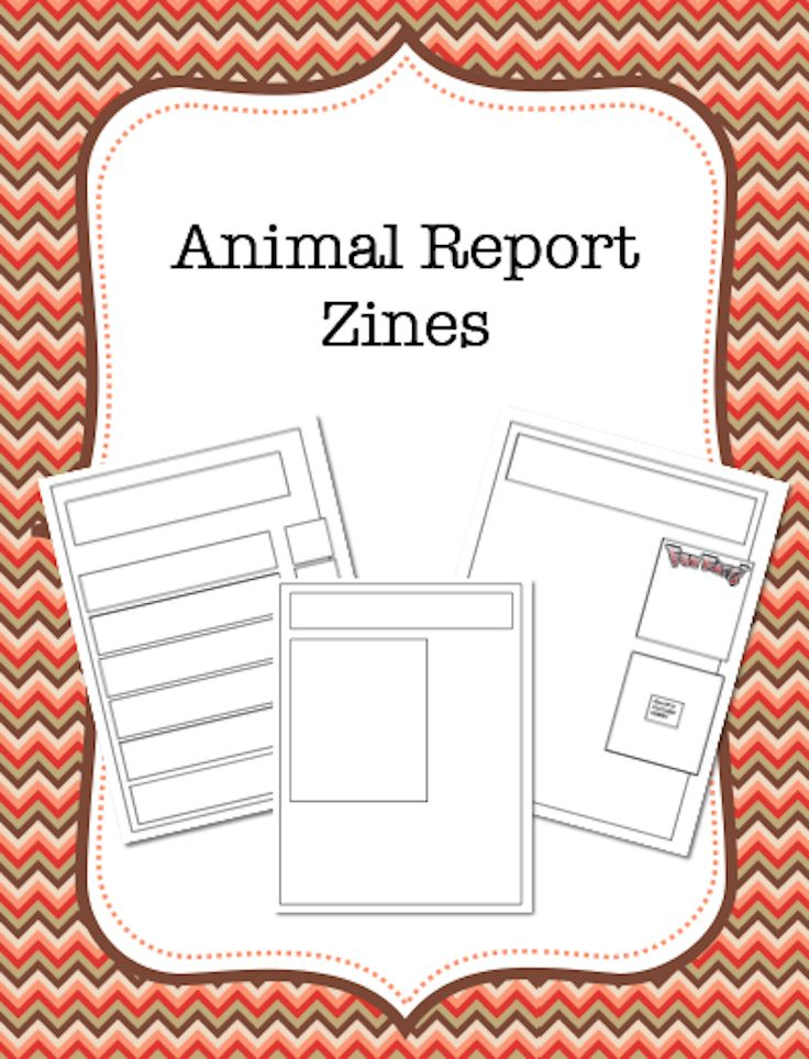 Take the standard animal report to the next level with this handy template! I found that having my kids make Animal Zines was a great way to get them engaged in informational writing.