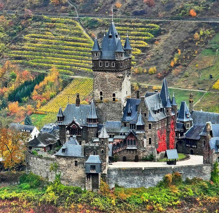 Reichsburg Cochem in Cochem | Community Post: 18 German Castles That Put Disney To Shame