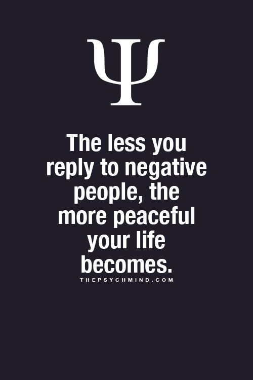 The less you reply to negative people, the more peaceful your life becomes.  Want more business from social media? zackswimsmm.tk