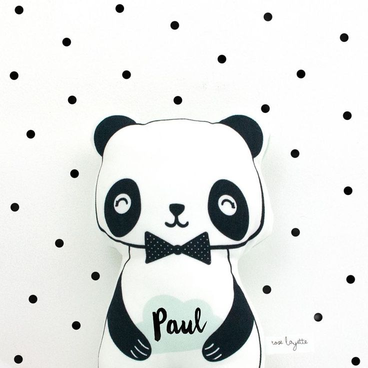 Luna Panda vous fait un petit bisou ☁️ 🐼☁️ je crois que ce doudou est celui de Paul 💙    #handmade #faitmain #doudou #panda #cloud #bebe #baby #babylove #cute #love #decokids #chambrebebe #chambreenfant #maman #mum #grossesse #enceinte #futuremaman #roselayette
