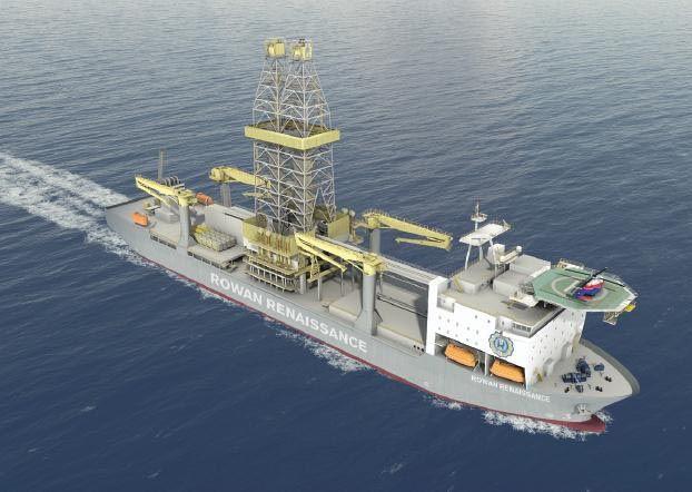Prospecciones petrolíferas en Fuerteventura y Lanzarote - Rowan Renaissance