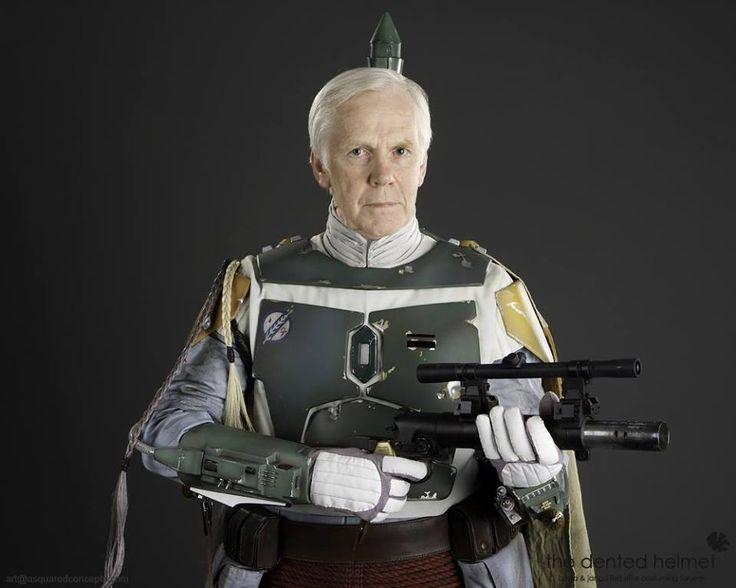 Jeremy Bulloch as Boba Fett (Empire Strikes Back version)