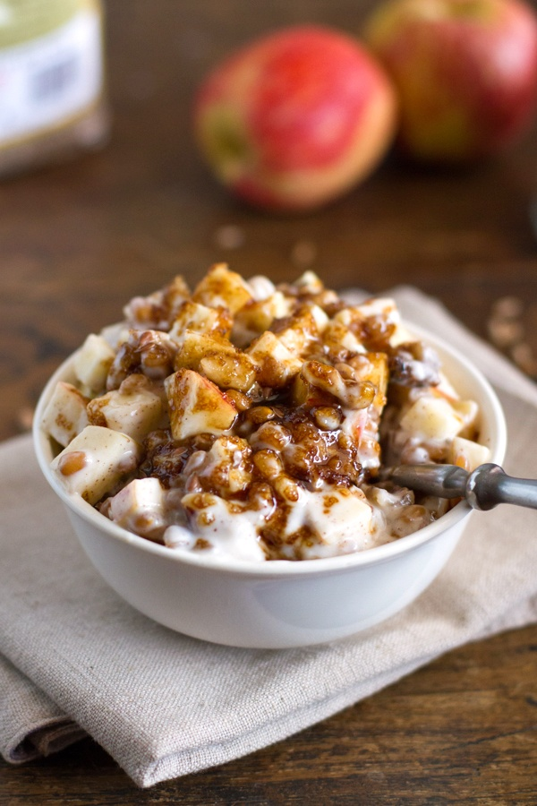 Brown Sugar Apple, Wheat Berry, & Yogurt Parfaits | Recipe