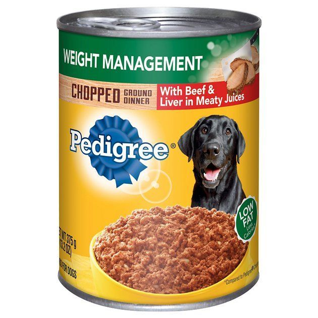 Buy Pedigree Chopped Ground Dinner Weight Management With Beef