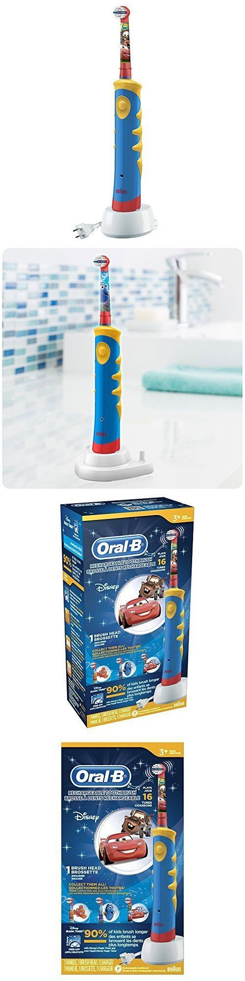 Childrens Oral Care: Oral B Pro-Health Stages Oral-B Power Brush - Finding Dory Toothbrush For Kids -> BUY IT NOW ONLY: $50.2 on eBay!