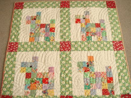 One of the cutest children's quilt I have seen.