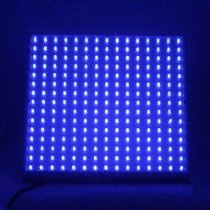LEDwholesalers 2501BU Blue 225 LED 13.8 Watt Square Grow Light Panel 110 Volt. BENEFITS: This panel has no ballasts to burn out like other plant lights. It runs at a warm temperature rather than very hot which is common with most other inefficient plant lights.
