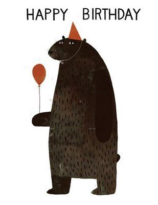 illustration / Jon KlassenParties Animal, Birthday Parties, Jon Class, Greeting Cards, First Birthday, Character Design, Jonklassen, Children Book, Art Illustration