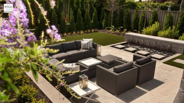 Explore Groupe Paramount and all the possibilities they can open up to you for your home landscaping and pool needs. Experts in landscaping since 1979  #landscaping #montreal #patio #outdoordecor #pavers #fountain #retainingwall #outdoorseating #privacywall #featurewall #plants