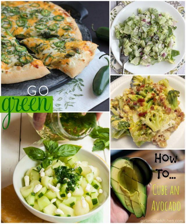 Easy Green Recipes: Foodie Fridays