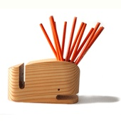 I love whimsical office and desk accessories -- they can definitely lighten