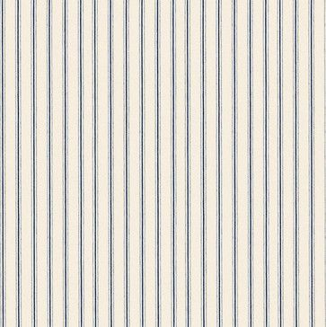 Vintage Ticking Stripe Navy Fabric by the Yard - farmhouse - Upholstery Fabric - Ballard Designs