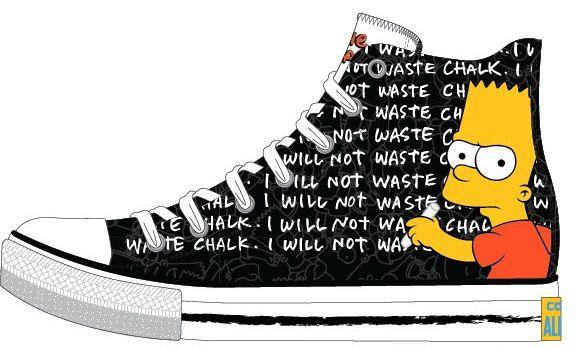 cool Simpsons Ailesi Converse'lerde  #converse #simpsons
