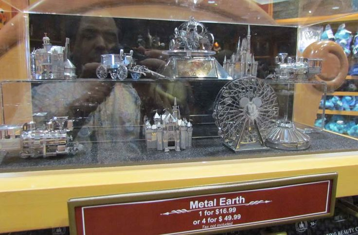 There's a new Disney Parks icon line of Metal Earth, the 3D metal model kit. The…