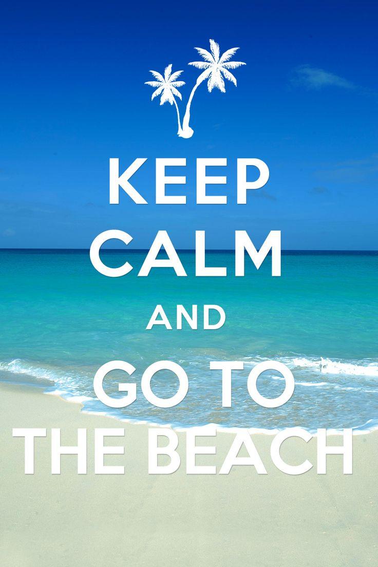 Keep Calm and go to the beach! #bahamas