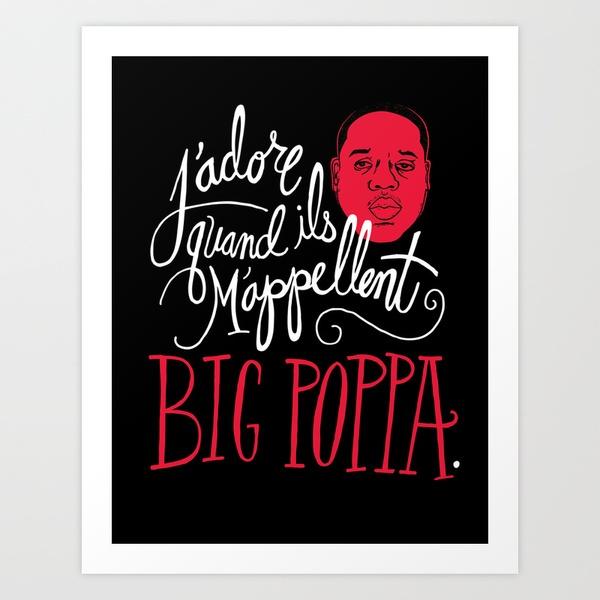 French Poppa Art Print by Chris Piascik | Society6 (Seth's Birthday)