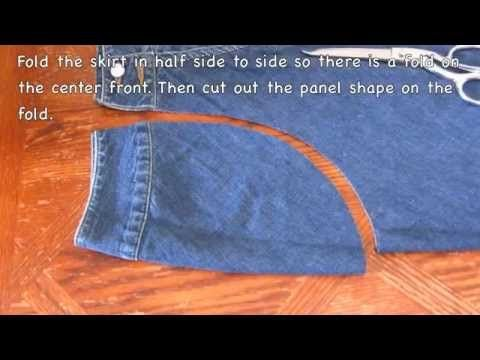 DIY: How To Make Maternity Pants - YouTube
