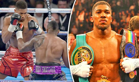 Anthony Joshua crowned British heavyweight champion after brutal Dillan Whyte knockout
