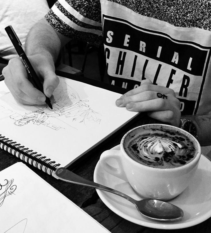 Coffee scribbles