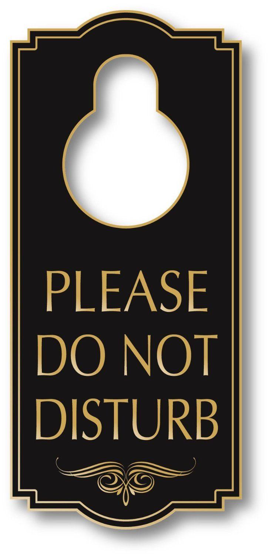 my sign center door sign  legend   please do not disturb