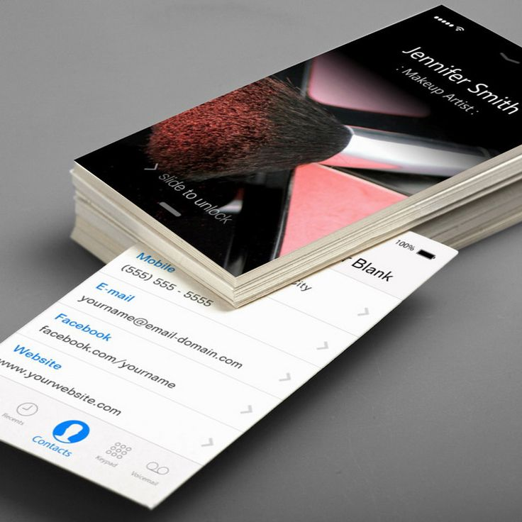 iphone 6 transparent business card template on behance
