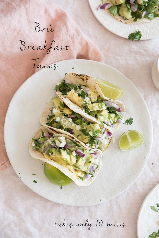 easy breakfast tacos!