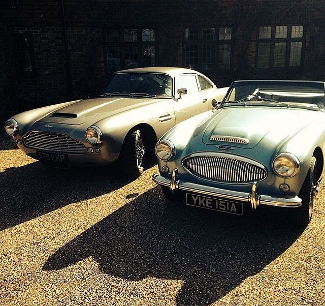 Aston Healeys