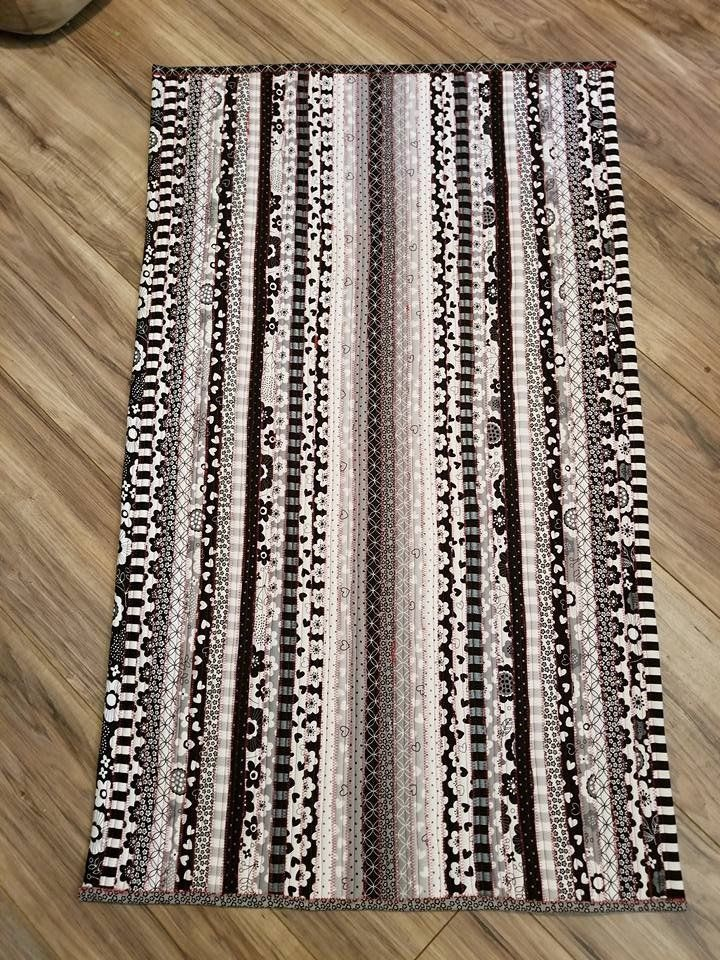Jelly Roll Rug 2 Rectangle Rag Rug Tutorial Jelly Roll Jelly Roll Sewing