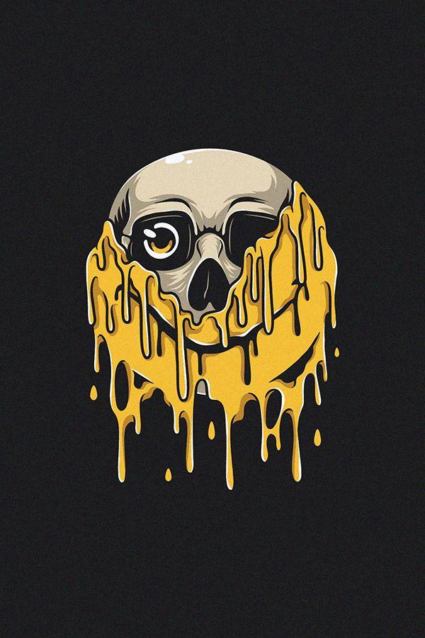 Pin On Skull Art
